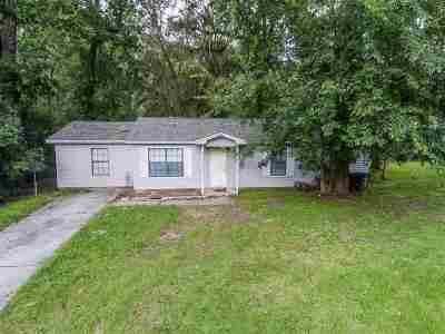 tallahassee Single Family Home For Sale: 1401 Deer Haven Lane