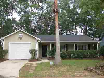 tallahassee Single Family Home For Sale: 4200 Red Oak Drive