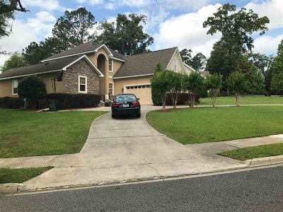 Tallahassee Single Family Home New: 6272 Buck Run
