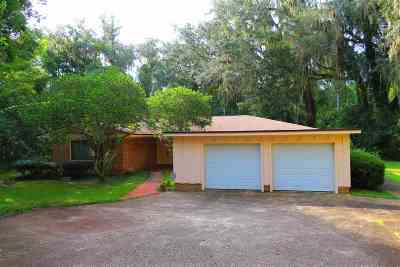 Tallahassee FL Single Family Home Contingent: $220,000