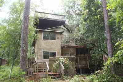 tallahassee Single Family Home For Sale: 1796 Boatwright Road