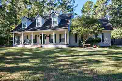 Tallahassee Single Family Home For Sale: 10510 Blue Wing