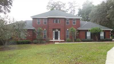 Tallahassee Single Family Home For Sale: 1886 Chardonnay
