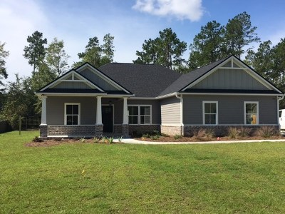Crawfordville Single Family Home For Sale: Lot 35 Counrty Club Drive