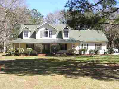 Tallahassee Single Family Home New: 6452 Weeping Willow Way