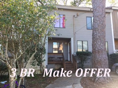 tallahassee Condo/Townhouse For Sale: 1900 Holmes Street