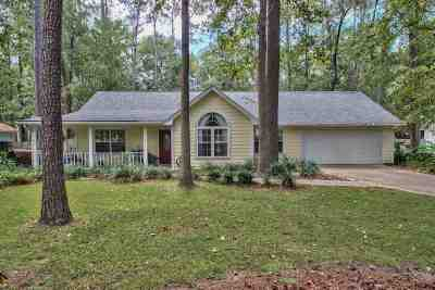 Tallahassee Single Family Home New: 1671 Folkstone