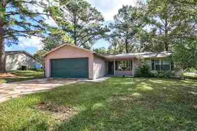 Tallahassee Single Family Home New: 1668 Rodeo Drive