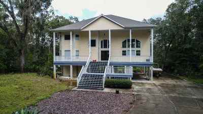 Crawfordville Single Family Home For Sale: 1 Palmetto Drive