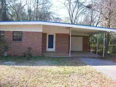 tallahassee Single Family Home For Sale: 2126 Atchena Nene