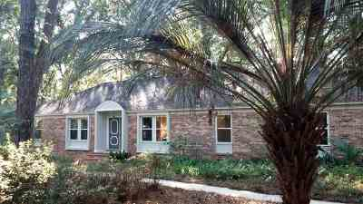 tallahassee Single Family Home For Sale: 2640 Stonegate Drive