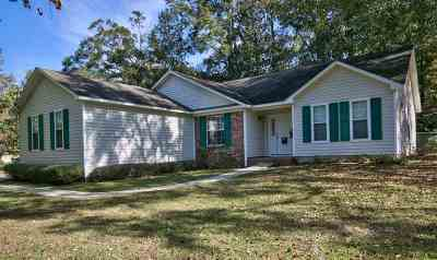 tallahassee Single Family Home Reduce Price: 1865 Reservation Trail