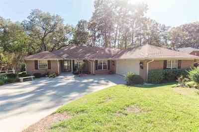 Tallahassee Single Family Home For Sale: 2991 Compton Way