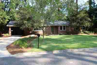 Tallahassee Single Family Home New: 617 Short Street