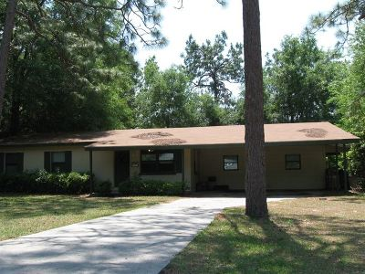 tallahassee Single Family Home For Sale: 823 Greenleaf