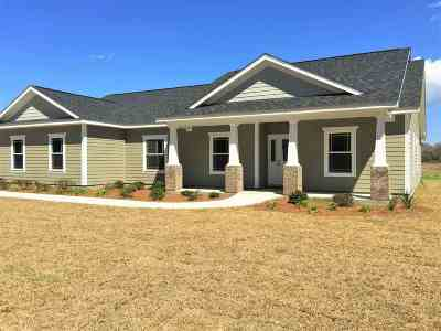 Crawfordville Single Family Home For Sale: 62 Martin Farms Road