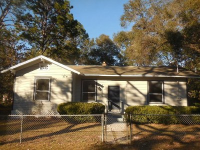 tallahassee Single Family Home For Sale: 206 Ridge Road