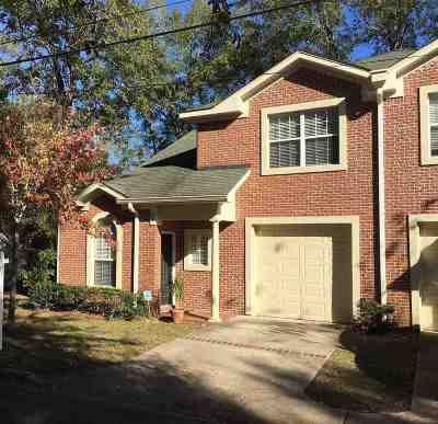 Tallahassee FL Condo/Townhouse New: $275,000