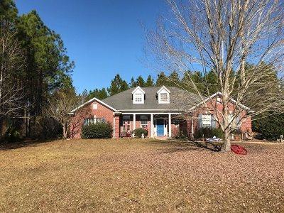 Crawfordville Single Family Home For Sale: 92 Ponderosa Dr
