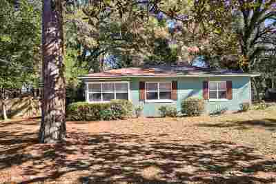 tallahassee Single Family Home For Sale: 1517 Patrick Avenue