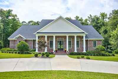 Live Oak Plantation Single Family Home For Sale: 1100 Live Oak Plantation Road