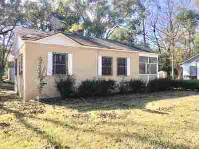 tallahassee Single Family Home For Sale: 1629 Hernando Drive