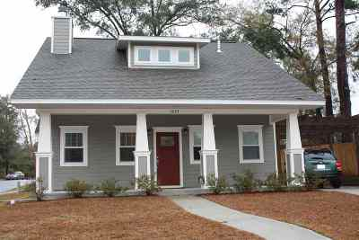 tallahassee Single Family Home For Sale: 1635 Cottage Rose Lane