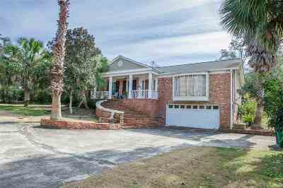 Tallahassee Single Family Home New: 4913 Buck Lake Road