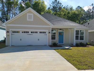 Tallahassee Single Family Home New: 331 Gathering Oaks Drive