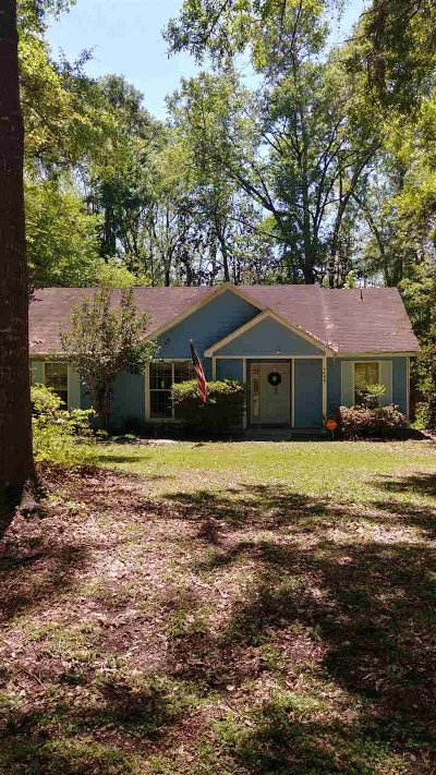 Tallahassee Single Family Home New: 9088 S Foxwood Drive