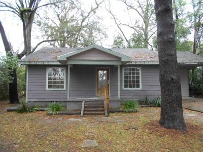 tallahassee Single Family Home For Sale: 210 W Georgia Street