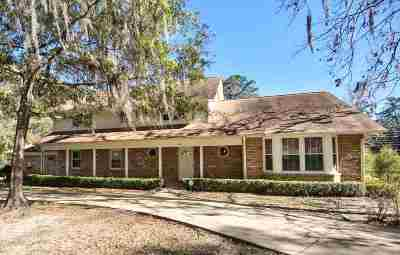 Tallahassee FL Single Family Home For Sale: $450,000