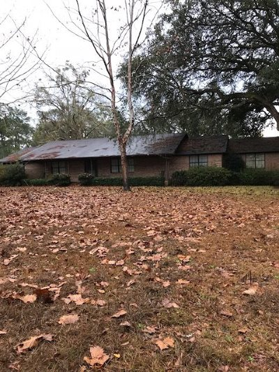 Tallahassee Single Family Home For Sale: 9369 Old St Augustine Road