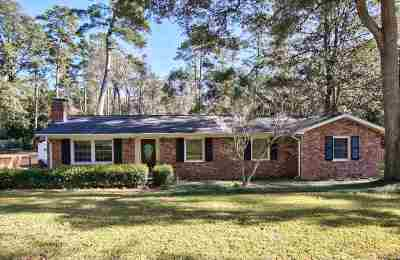 tallahassee Single Family Home For Sale: 2905 Lasswade Drive