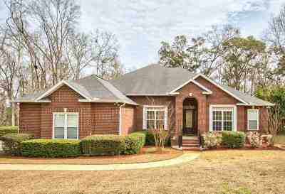 Tallahassee Single Family Home For Sale: 7103 Heritage Ridge Road
