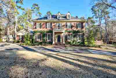 Tallahassee Single Family Home For Sale: 3810 Bobbin Mill Rd