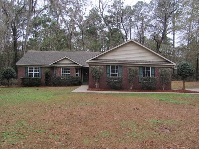 Tallahassee Single Family Home New: 3583 Velda Woods Dr