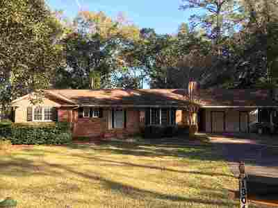 tallahassee Single Family Home For Sale: 1306 Dillard Street