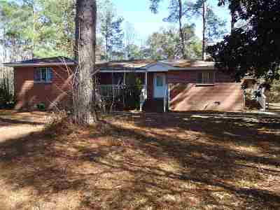 Tallahassee Single Family Home For Sale: 8575 Thomasville Road