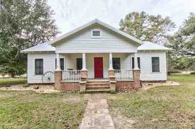 Crawfordville Single Family Home New: 252 Wakulla Springs Road