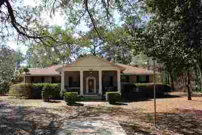 Crawfordville Single Family Home New: 114 Purify Bay Road