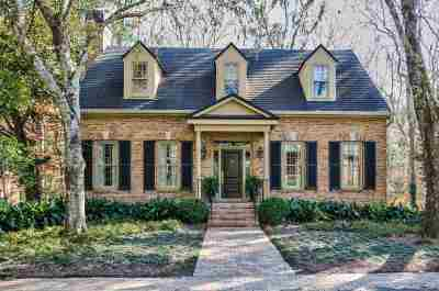 Tallahassee Single Family Home New: 1298 Millstream Road