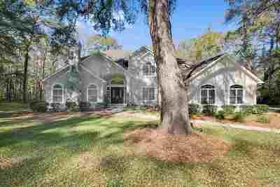 Tallahassee Single Family Home New: 3987 Bobbin Brook Circle