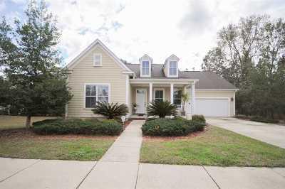 Tallahassee Single Family Home New: 3251 Salinger Way