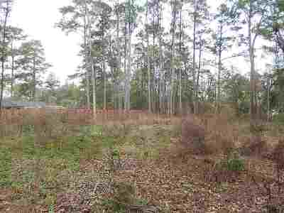 Tallahassee FL Residential Lots & Land For Sale: $54,000