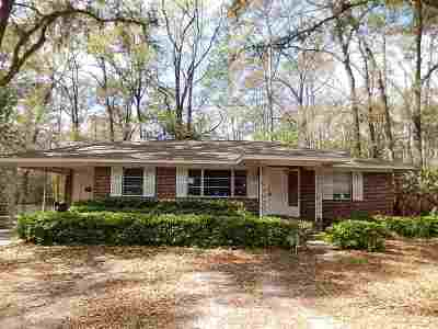 tallahassee Single Family Home For Sale: 222 Cactus Street