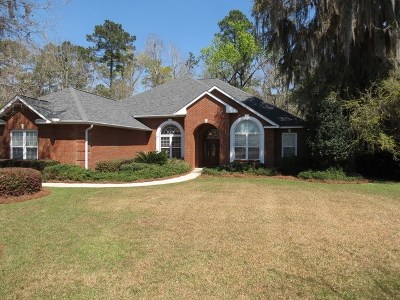 Tallahassee Single Family Home For Sale: 9196 Shoal Creek