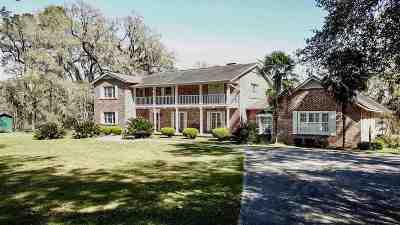 Lloyd, Tallahassee, Monticello, Lamont, Quincy, Havana, Wacissa, Crawfordville, Woodville Single Family Home For Sale: 4553 Williams Road
