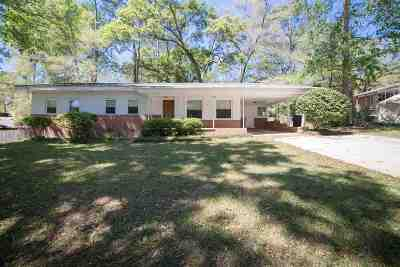 tallahassee Single Family Home For Sale: 1904 Holly Street