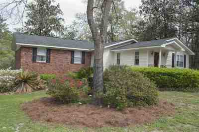 Wakulla County Single Family Home For Sale: 12 Fonigan Road